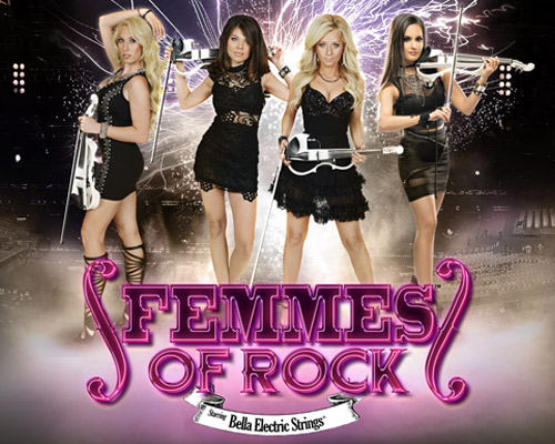 Bella Electric Strings/FEMMES of ROCK