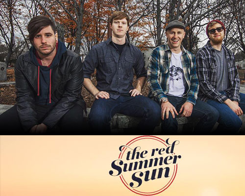 The Red Summer Sun