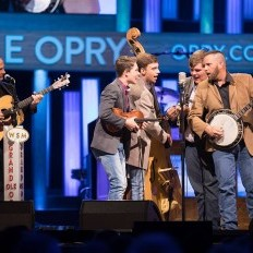 Carson Peters and Iron Mountain at Opry