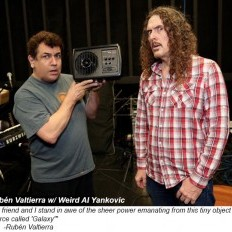 Rubén & Weird Al with Quote