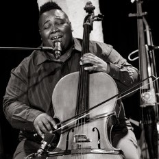 BJ Griffin playing the cello
