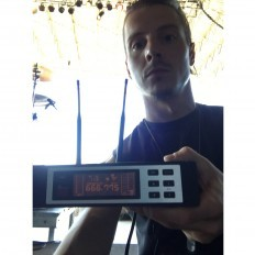 Bobby Miller with CTS Wireless Guitar System Receiver