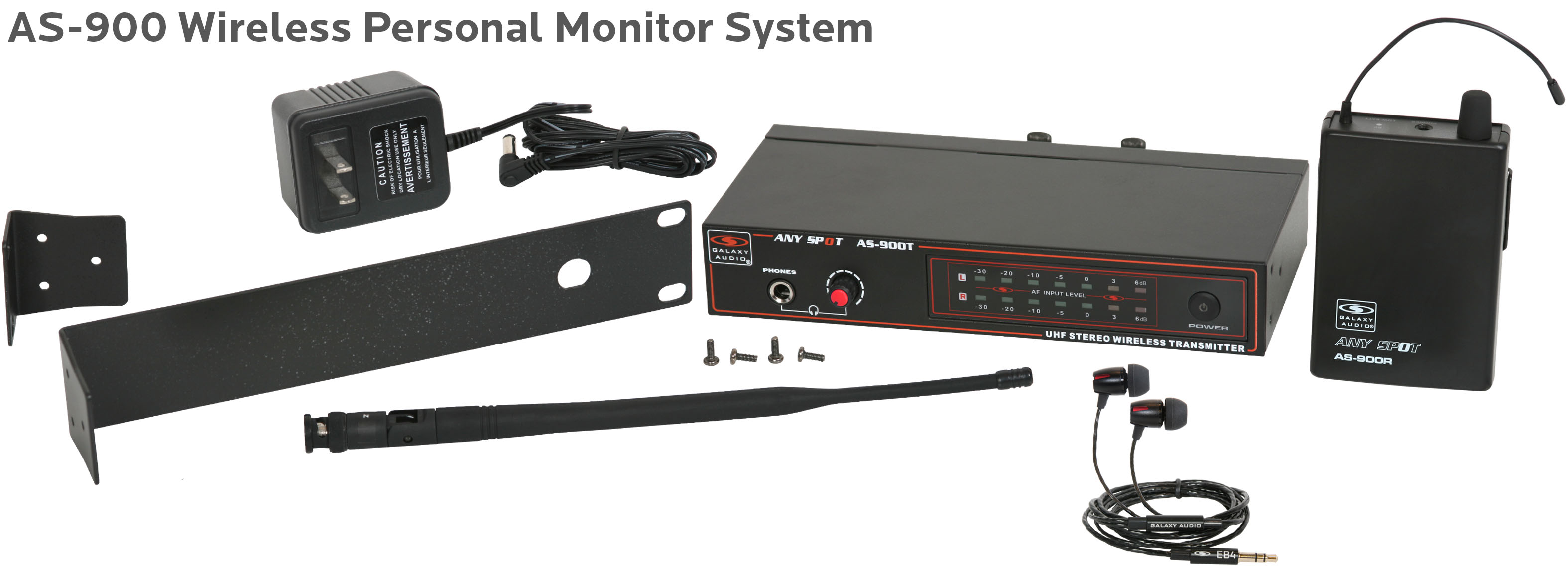AS-900 Wireless Personal Monitor System
