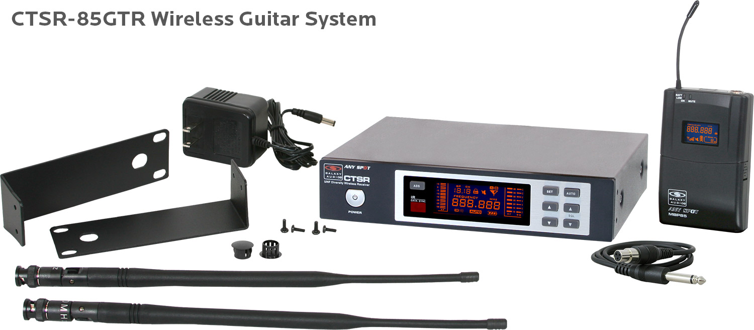 CTSR-85GTR Wireless Guitar System
