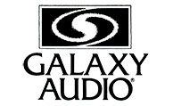 Galaxy Audio logo from 1987 to 1994