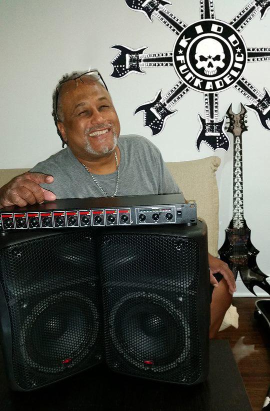 Galaxy Audio RM10 GPS-8 Parliament Funkadelic Kidd Funkadelic Michael Hampton