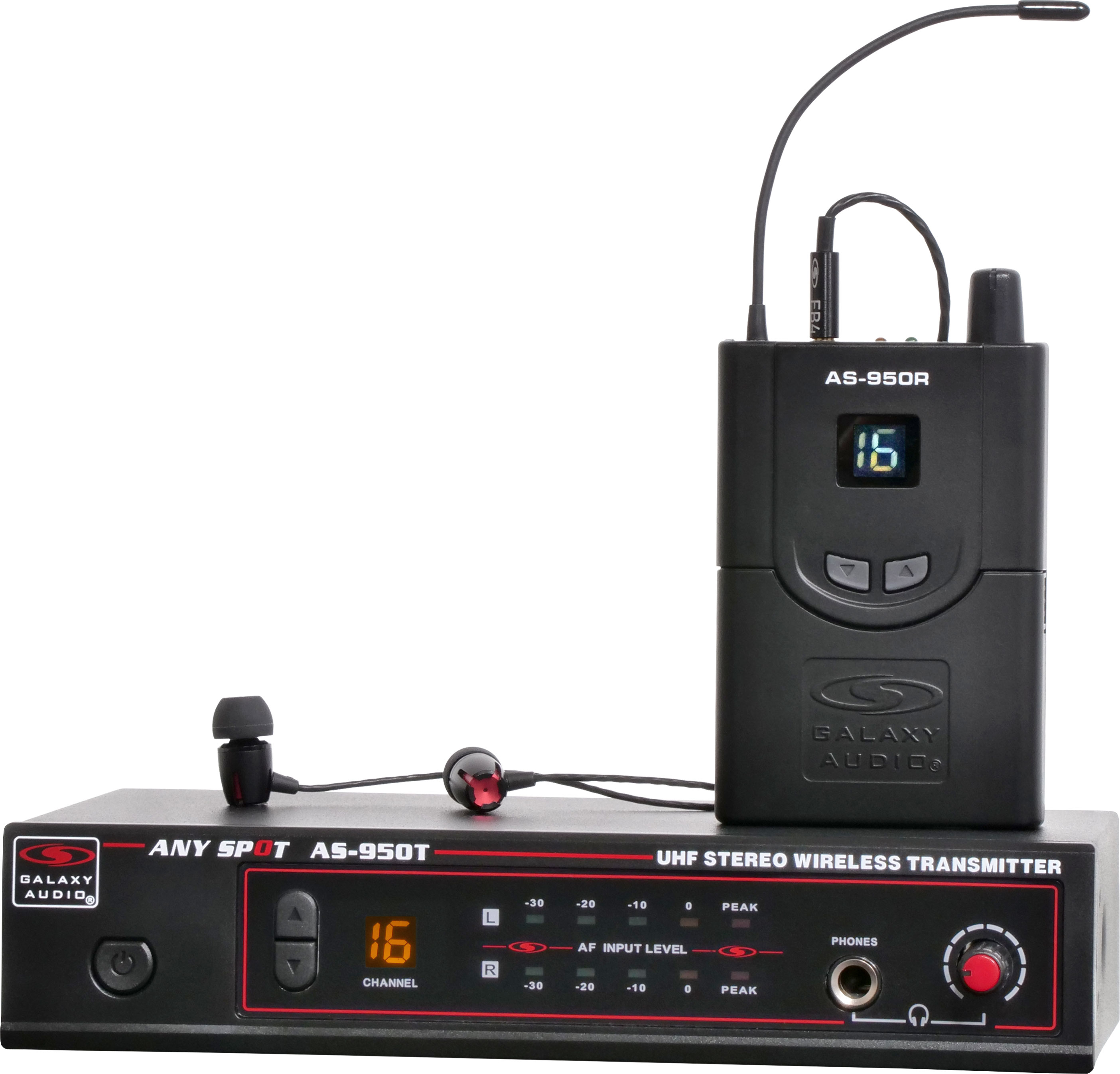 Group N Galaxy AS-950N Wireless In Ear Personal Monitor System