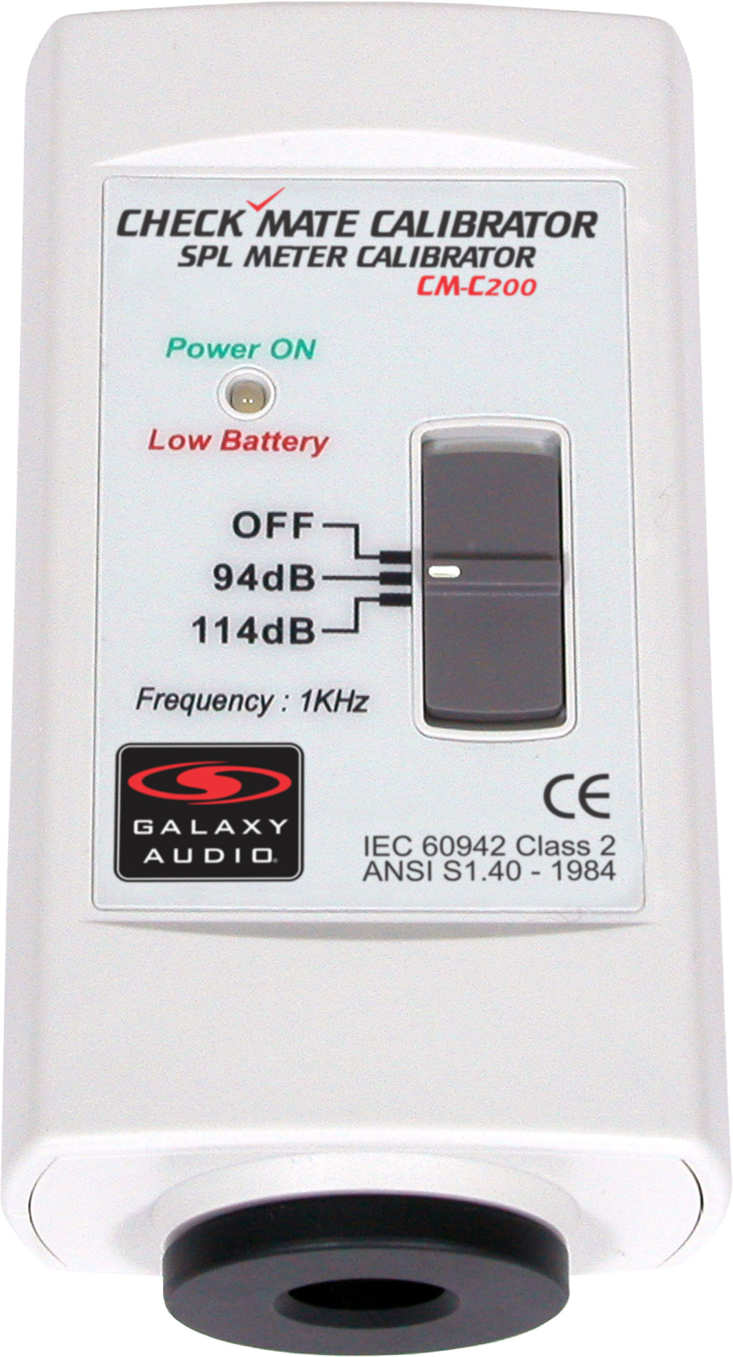 Galaxy Audio Cm C200 Spl Meter Power Calibrator