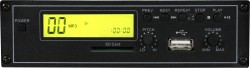 AS-TV5U - Plays MP3 format, Accepts SD Cards, USB Connection, LCD Display, Pitch Control, Mute Switch, Easy Aftermarket Installation