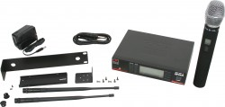 DHXR/HH65SC - This system includes the DHXR Receiver and the HH65SC Hand Held Transmitter.