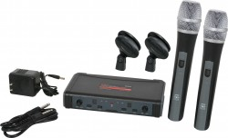 ECDR/HH38 - This system includes the ECDR Receiver and 2 HH38 Handheld Transmitters.