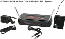 ECMR/52GTR - Guitar Cable (AS-GTR): 1/4