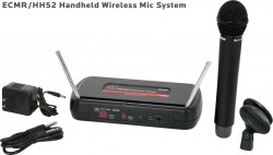 ECMR/HH52 - This system includes the ECMR Receiver and the HH52 Hand Held Transmitter.
