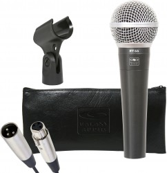 RT-66X: Includes XLR Cable