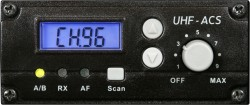 TVREC - 96 Selectable Channels, Channel Selector, RF and AF indicator, Volume Control, LCD Display, Easy Aftermarket Installation