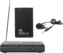 VESR/18V - Wireless Lavalier System: Cardoid Polar Pattern, 9.68mm Condenser Element, 37