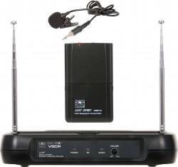 VSCR/18S - Wireless Headset Microphone System: Cardoid Polar Pattern, 9.68mm Condenser Element, 37