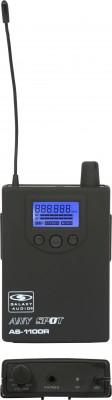 AS-1100 Wireless In-Ear Body Pack Receiver