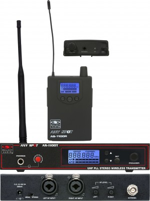AS-1100 Wireless In-Ear System