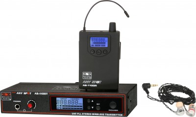 AS-1106 with EB6 Wireless In-Ear System