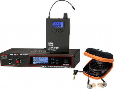 AS-1110 with EB10 Wireless In-Ear System
