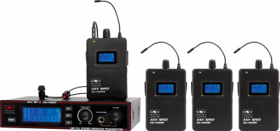 AS-1400-4 Wireless Personal Monitor System