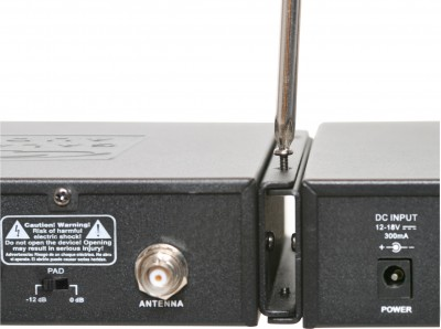 AS-1400 Wireless Personal Monitor Dual Rack