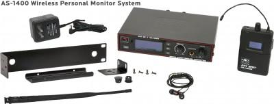 AS-1400 Wireless In-Ear with EB4 Ear Buds