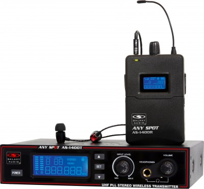 AS-1400 Wireless In-Ear System