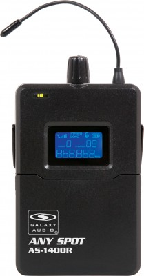 AS-1400 Personal Monitor Body Pack Receiver