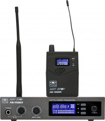 AS-1500 body pack receiver