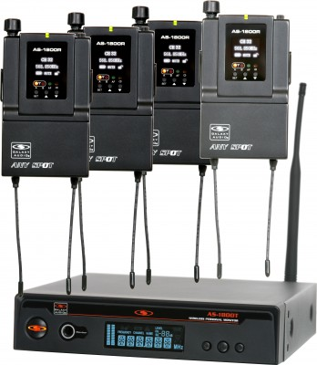 AS-1800-4 In-Ear Band Pack System