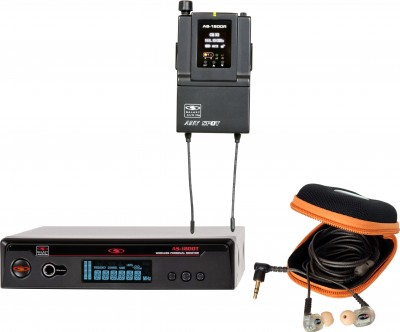 AS-1810 with EB10 Wireless Personal Monitor System
