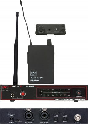 galaxy audio AS-900 wireless personal monitor