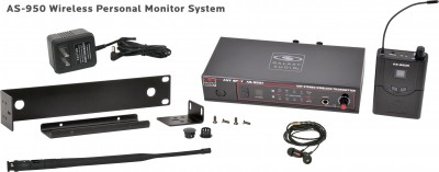 AS-950 Wireless Personal Monitor System