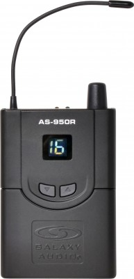 AS-950 Personal Monitor Body Pack Receiver