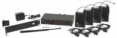 AS-900-4 Wireless In-Ear Band Pack System