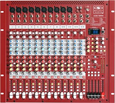 rack-mountable analog audio mixer