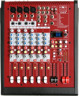 AXS-8 Analog Audio Mixer