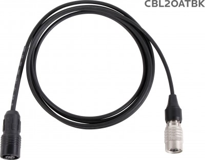 CBL2OATBK Cable for H2O7 with Audio-Technica Connector