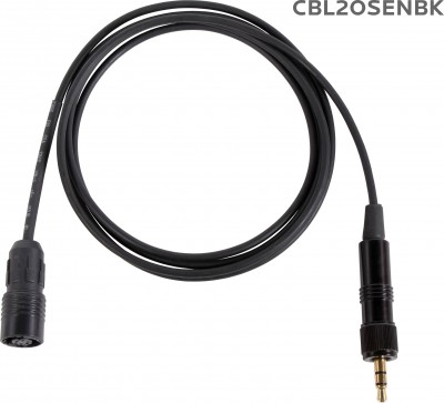 CBL2OSENBK Cable for H2O7 with Sennheiser Connector
