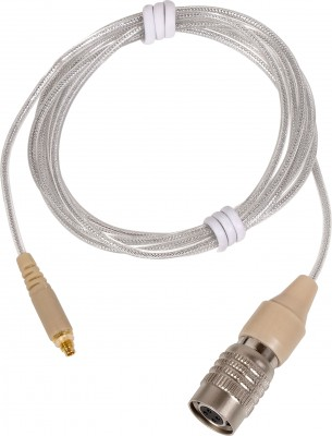 Detacheable HIROSE cW connector cable wired for most Audio-Technica systems