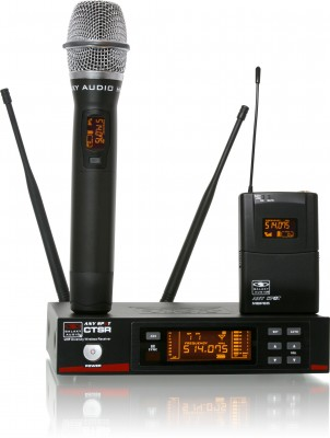 CTS 920 Channel Tour Grade Vocal Artist Wireless Microphone System (UHF)