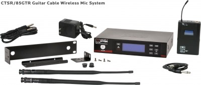 CTS Wireless Guitar Cable Mic System