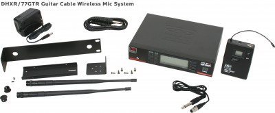DHX Guitar Cable Wireless Mic System