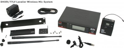 DHX Lavalier Wireless Mic System
