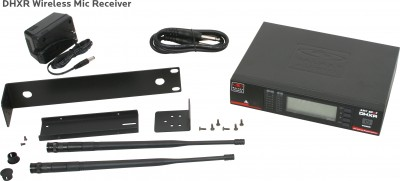DHX Wireless Mic Receiver and Components