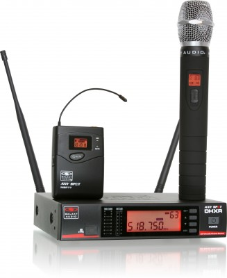 DHX 120 Channel Professional Wireless Mic System with Auto Scan (UHF)