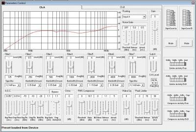 DSCP22 Main Screen
