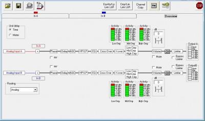 Compressor Main Screen